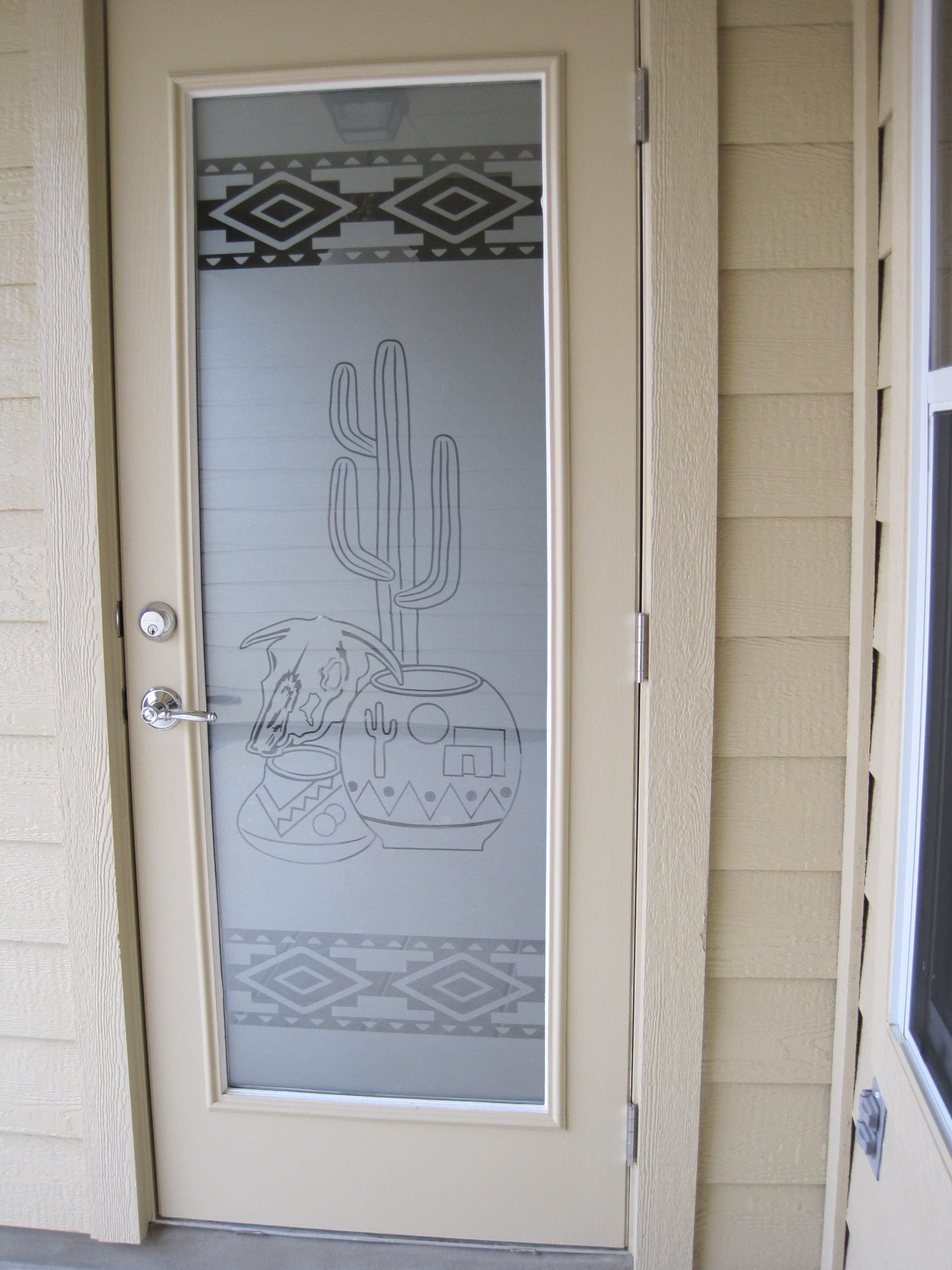 Etched Glass Custom Etching And Frosted Window Door Decals Vinyl