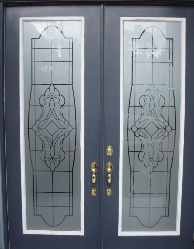 ETCHED VICTORIAN DECAL